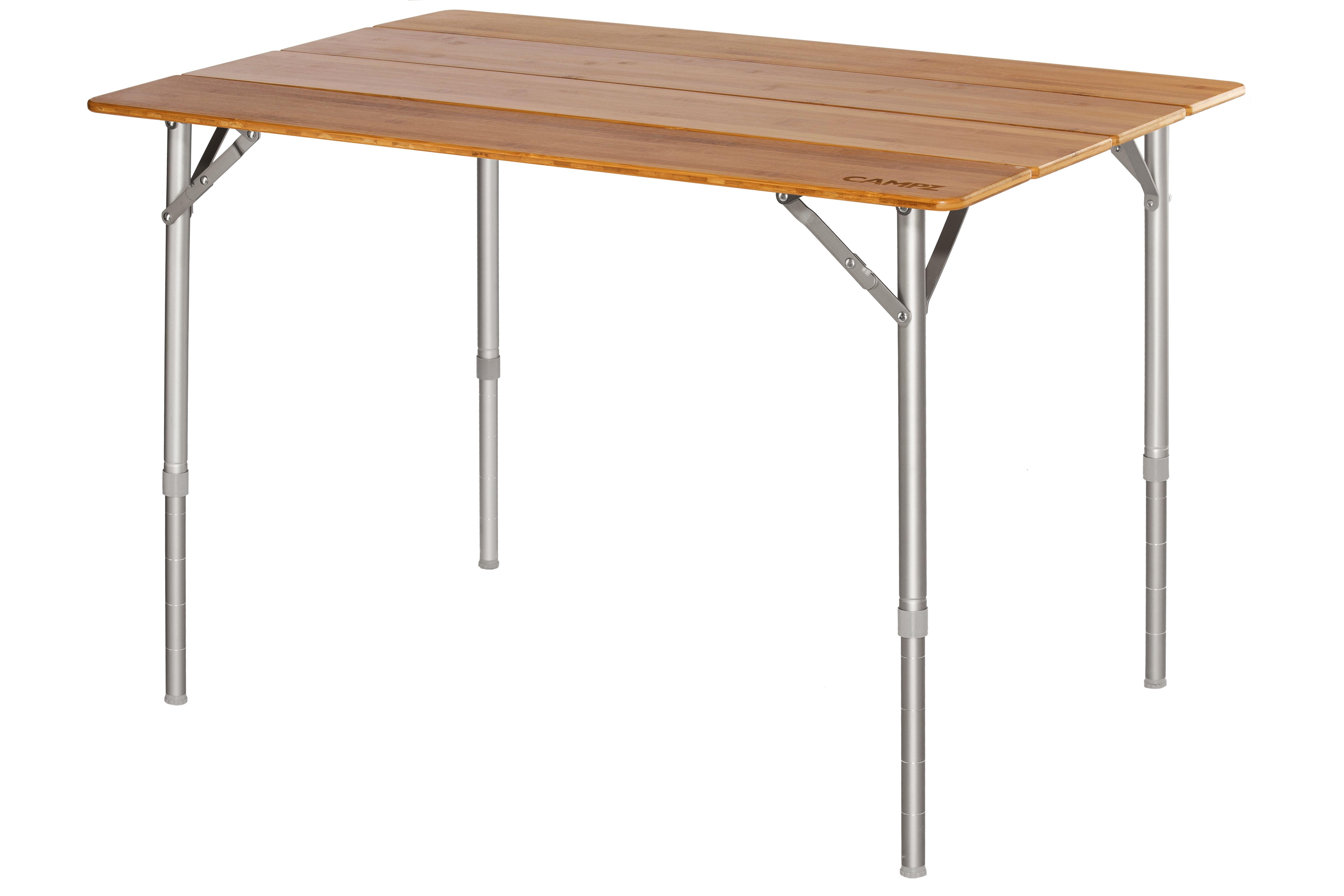 Klaptafel 100 X 100.Campz Bamboo Folding Table 100x65x65cm Brown L Online Outdoor Shop